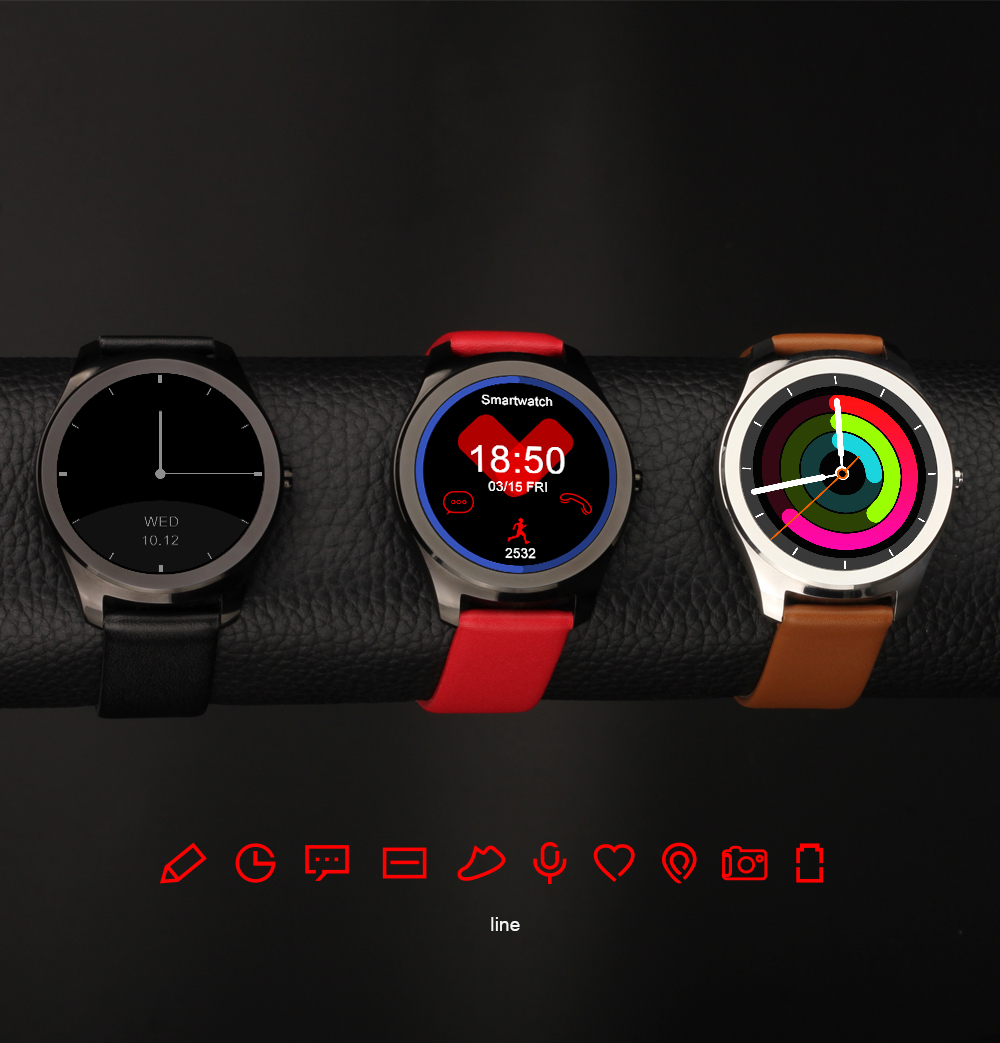 best gift for girlfriend wife SmartWatch ip67 Waterproof Heart Rate monitor  WhatsApp facebook twitter Notification smart Watch
