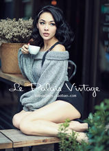 Le Palais Vintage Retro street beat all-match utility woolen waisted packet hip short shorts/high waist/without Straps
