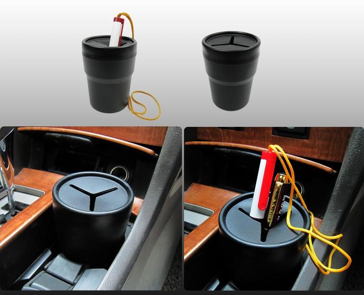 Delicate Car Trash Holder, Portable Car Garbage Can Storage Bins,Rangement Voiture