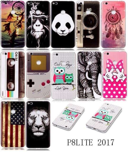 Funda Huawei PRA-LX1 Case For 2017 Huawei P8Lite PRA LX3 Cover Huawei PRA LX3 Capa para Huawei PRA-LA1 Coque P8 Lite 2017 Cases