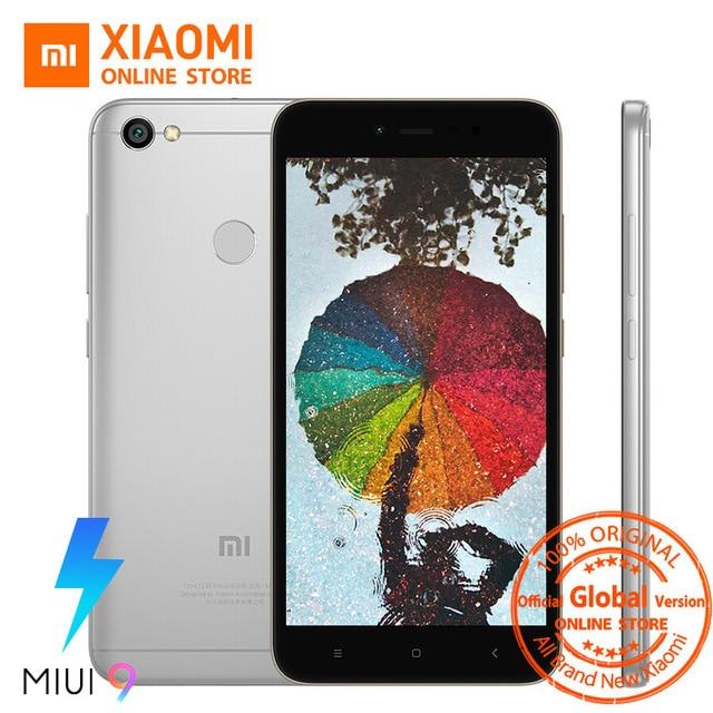 Глобальная версия Xiaomi Redmi Note 5A 5 3 ГБ 32 ГБ мобильный телефон Snapdragon 435 Octa core Процессор 16.0mp фронтальная камера отпечатков пальцев miui9