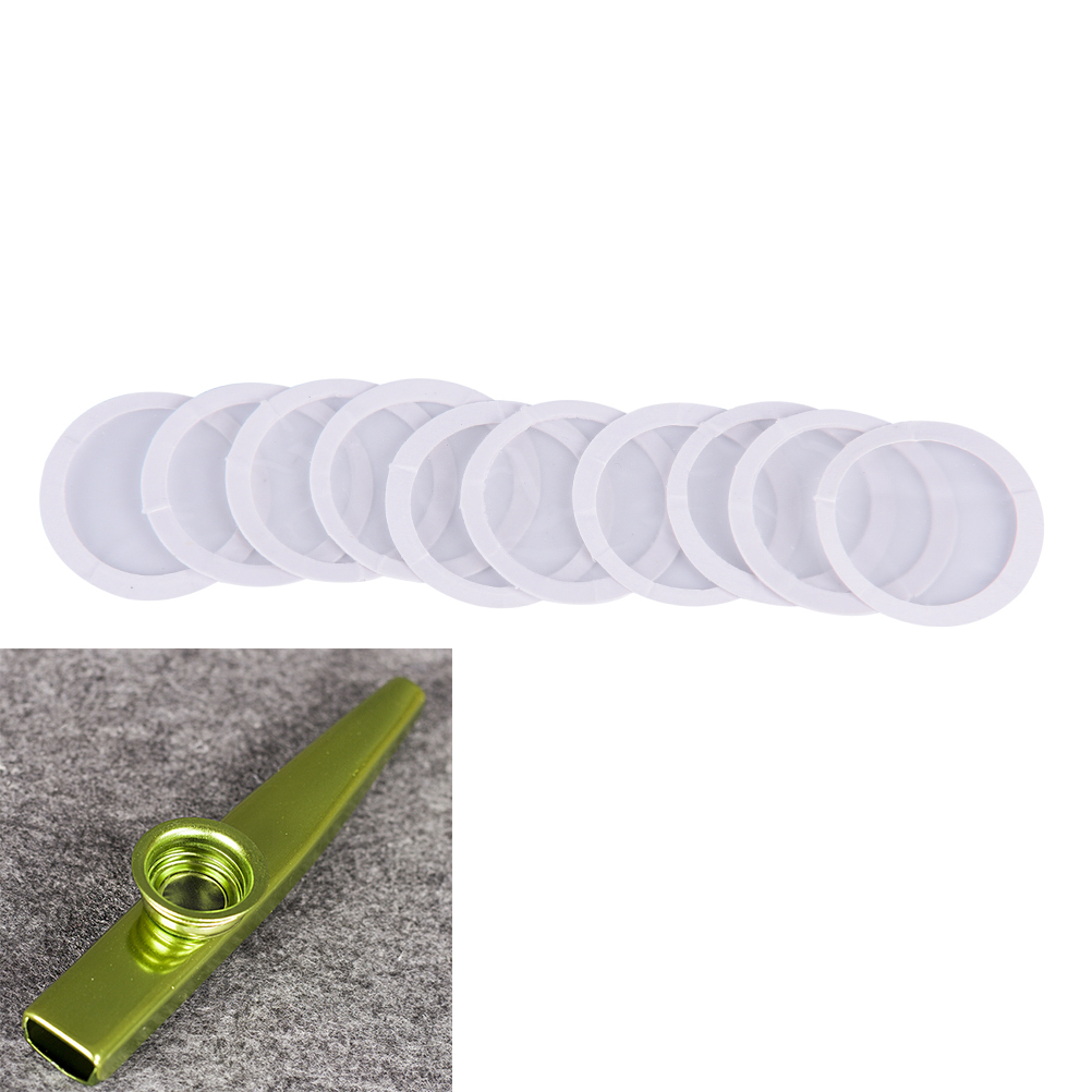 10Pcs Dia 20mm Diaphragm Kazoo Flute - Standard Common Size