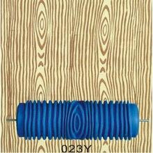 Ручные инструменты для дома-5 дюймов резиновый ролик для рисования стен, 023Y, ролик с узором под дерево синий без ручки