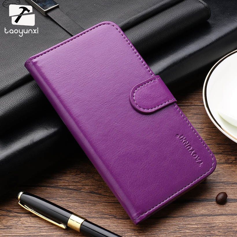 TAOYUNXI Flip PU Leather Phone Cases For Fly IQ4415 quad Era Style 3 IQ 4415 4.5 inch Covers Phone Case Bag Card Holder Skin