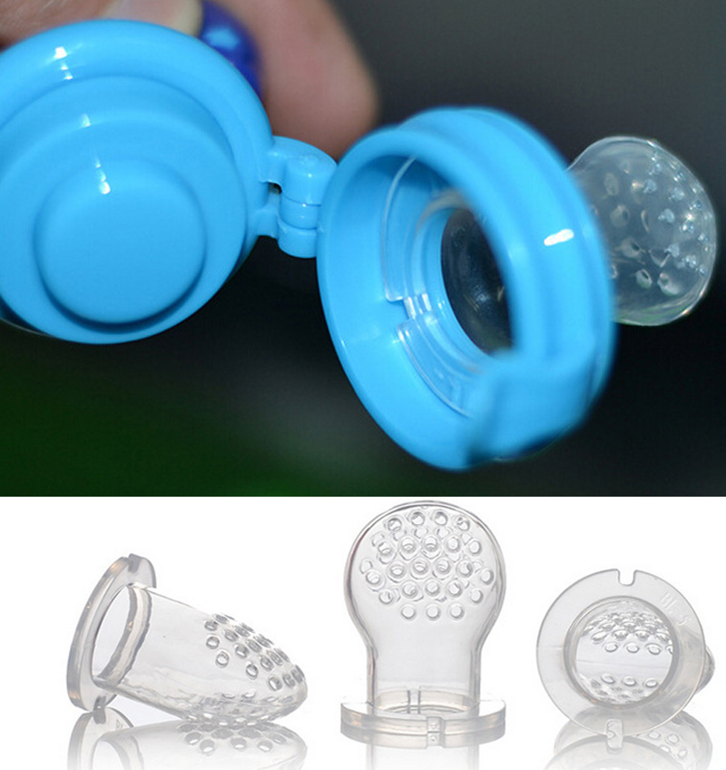 Baby Silicone Pacifier Kids Nipple Frukt Attache Sucette Chupetas Par - Baby mating - Bilde 2