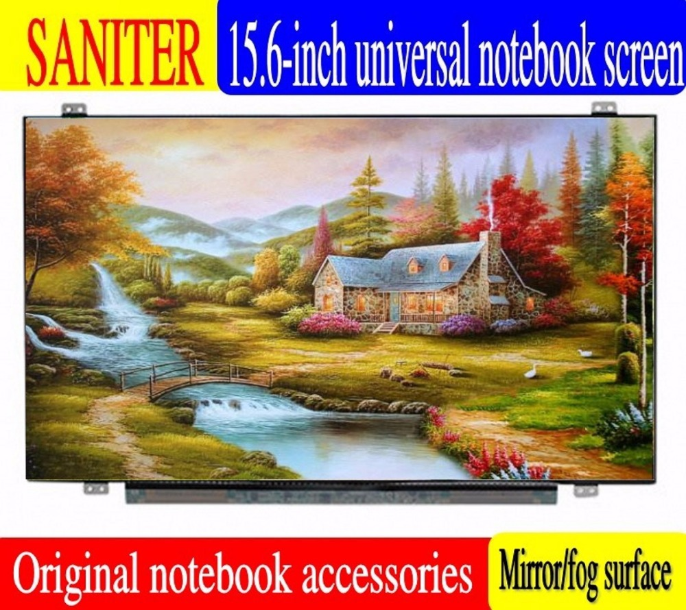 SANITER Apply to ASUS R556L A555LD K555L F555L A550D K550C 15.6 inch LCD screen saniter ltn140kt08 801 apply to samsung np700z3a s03us special 14 inch high score laptop lcd screen
