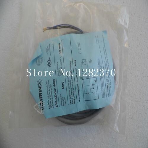 Подробнее о [SA] New original authentic special sales CONTRINEX sensor DW-AD-601-M30 spot --2PCS/LOT [sa] new original authentic special sales contrinex sensor dw ad 621 m8 spot 2pcs lot