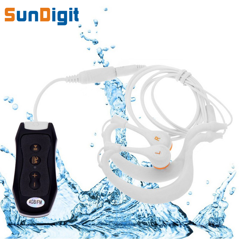 High Quality 8 GB IPX8 Headphones Waterproof 8GB Mp3 Player 8 G Mp 3 For Swimming