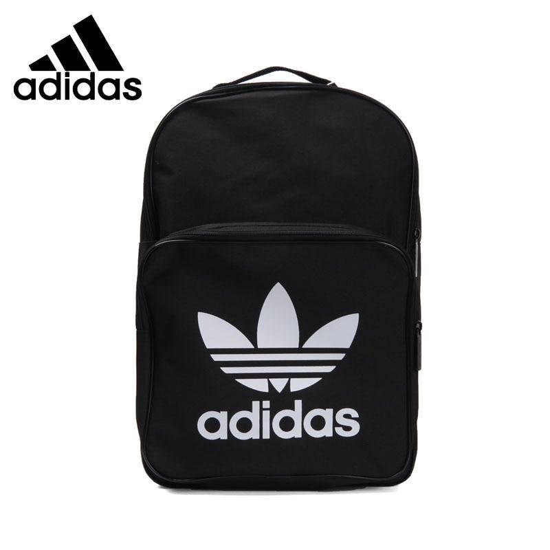 все цены на Original New Arrival 2018 Adidas Originals CLAS TREFOIL Unisex Backpacks Sports Bags