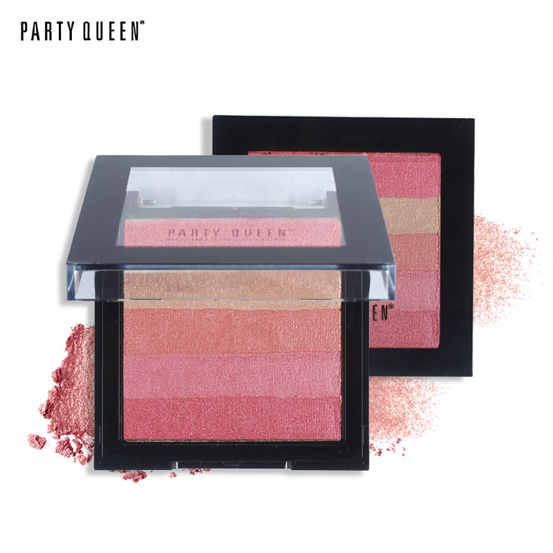 Bronzer Powder Blush and Highlighter Makeup Party Queen Pro Eye shadow Palette set Tanning Powder #01 20