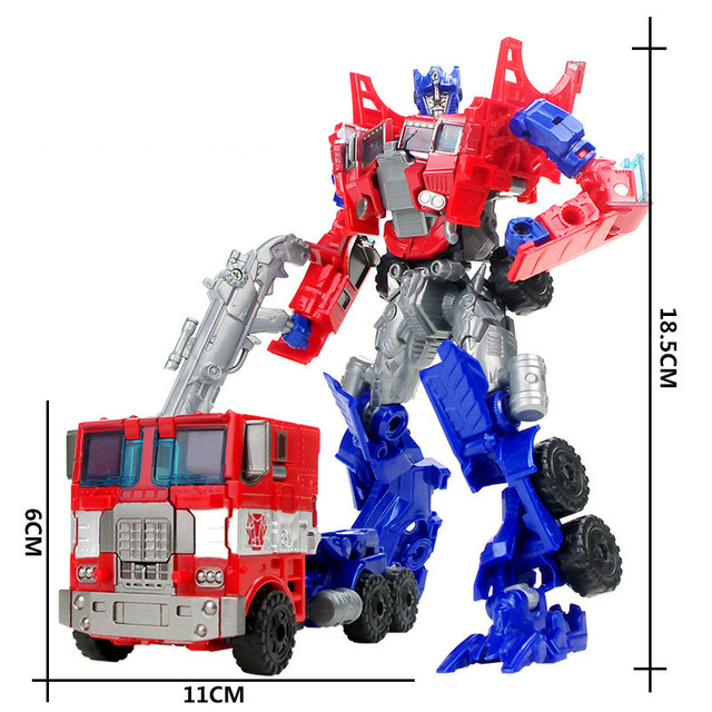 JINJIANG 19cm Height Transformation Deformation Robot Toy Action Figures ToysAction & Toy Figures