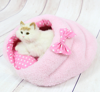 Pet dog cat warm soft kennels doggy fashion colorful bed puppy lovely Hamburg nest dogs cats house pets products 1pcs