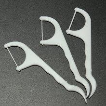 20pcs/lot Dental Flosser Oral Care Interdental Brush Teeth Stick Toothpicks Floss Clean Pick Dental Superfine Floss Bar