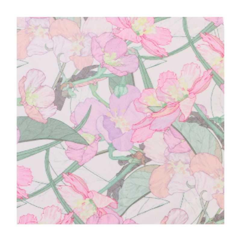 قطعة قماش لتنظيف النظارات عدسة التمريض الأزهار خمر الجلد المدبوغ الهاتف منظف الشاشة N20_A