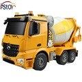 2.4 G 6 canais função de demonstração / alta potência / simulado soa / tração nas quatro rodas / tambor rotativo / betoneira RC misturador de cimento caminhão