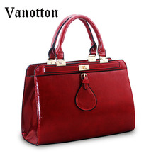 2016 European and American style fashion pu leather women tote bag Cross section type shoulder bag ladies crossbody  bags