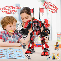 In Stock Lepin 06052 1010pcs Ninja Kay S Mecha Building Bricks Ninja Figure Toys For Children