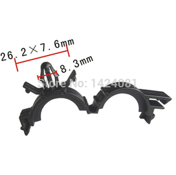 """500x OEM Nylon for  12160374 19mm 3/4"""" ID Car Rod Conduit Wire Cable Loom Routing Clip Clamp"""
