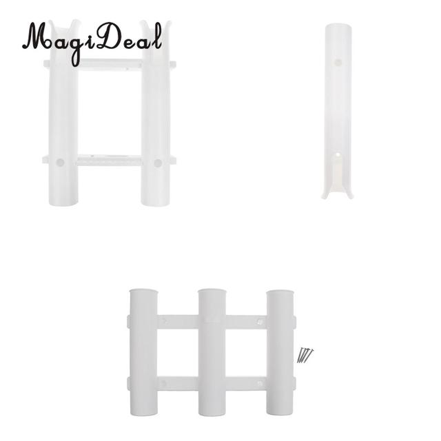 folding chair fishing pole holder kitchen table and chairs ikea strong plastic 1 2 3 tube rod rack bracket for