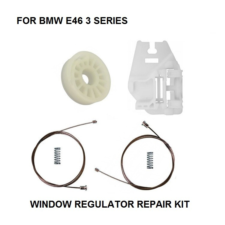 ELECTRIC WINDOW REGULATOR REPAIR KIT FOR BMW E46 WINDOW REGULATOR REPAIR KIT REAR-RIGHT 1998-2013