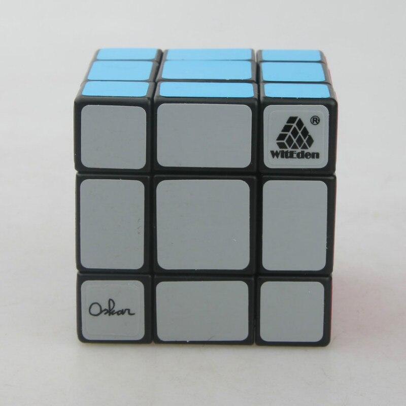WitEden Oskar 3x3x3 Cube magique 3*3 Puzzle Cube Fidget Magico Cubo jouets éducatifs - 3