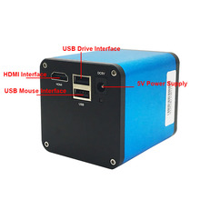 Autofocus 1080P 60FPS SONY IMX290 HDMI Video Auto Focus Industry Video Microscope Camera 180X C-Mount Lens For PCB SMT Repair