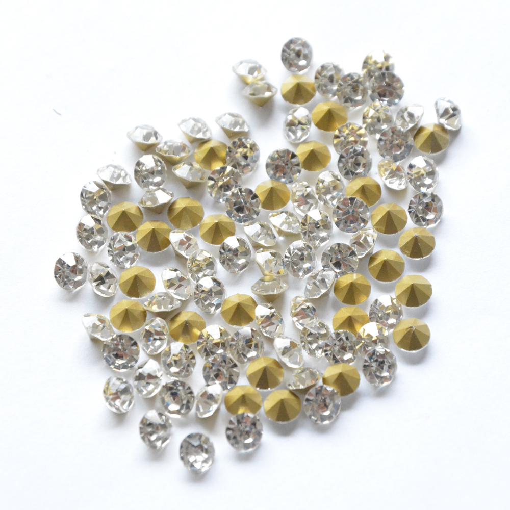 Wholesale Strass Nail Art Tools Nail Jewelry Decorations Accessories Rhinestones For Nails Clear DIY Sticker Crystal Pixie Nails