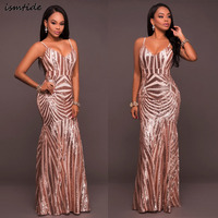 Women Dress Sequined Embroidery V Neck Beaded Sequin Maxi Dress Female Summer 1920s Vintage Party Sexy