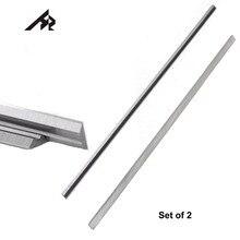 """HZ 2 шт. 12 """"лезвия для строгального ножа 793346 8 для Makita 2012NB 2012 толщиномер строгального станка 306x8x2 мм двойные края"""