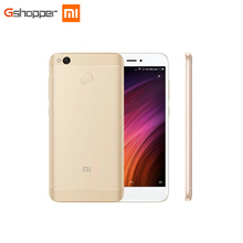 "Original Xiaomi Redmi 4X2 GB 16 GB Handy Octa Core Snapdragon 435 Handy 5,0 ""13.0MP Dual SIM Karten Fingerabdruck Entsperren"