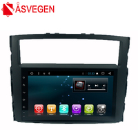 Asvegen 1 Din 9 дюймов Android 6,0 4 ядра автомобиля радио мультимедиа плеер gps навигации для MITSUBISHI PAJERO V97 V93 2006 2011