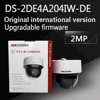 Free Shipping English Version DS 2DE4A204IW DE 2MP Network IR Mini PTZ Camera 3D Intelligent Positioning