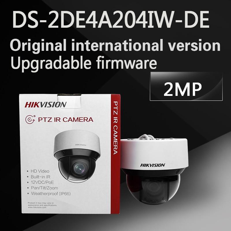 free shipping english version DS-2DE4A204IW-DE replace DS-2DE4A220IW-DE 2MP Network IR mini PTZ Camera free shipping english version ds 2de4a320iw de 3mp network mini ptz cctv camera 4 7 94mm with 50m ir 20x optical zoom