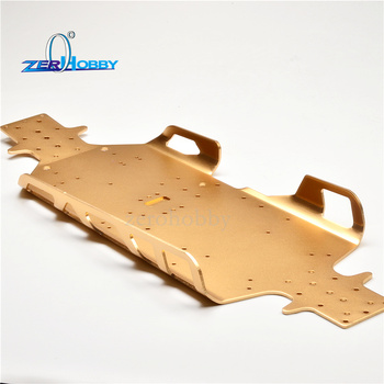 RC Car Aluminum 4mm thickness Chassis for 1/5 gas car truck 94050-50001