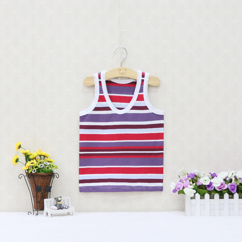 Children tops for boys and girls Baby 5-8 years old Camisoles Summer Sleeveless Vests 16 colors available Underwear Gifts 2019