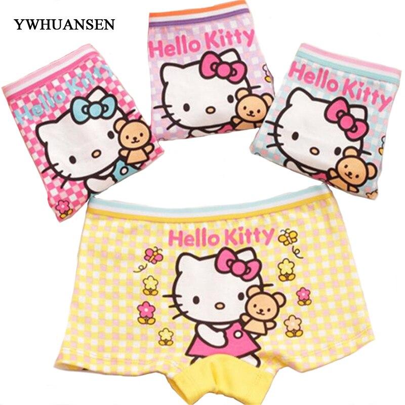 Buy 5pcs/lot Plaid Boxer Baby Pants Shorts Underwear, Children's Panties Girls Cotton Briefs Girls Teenage Girls Clothing