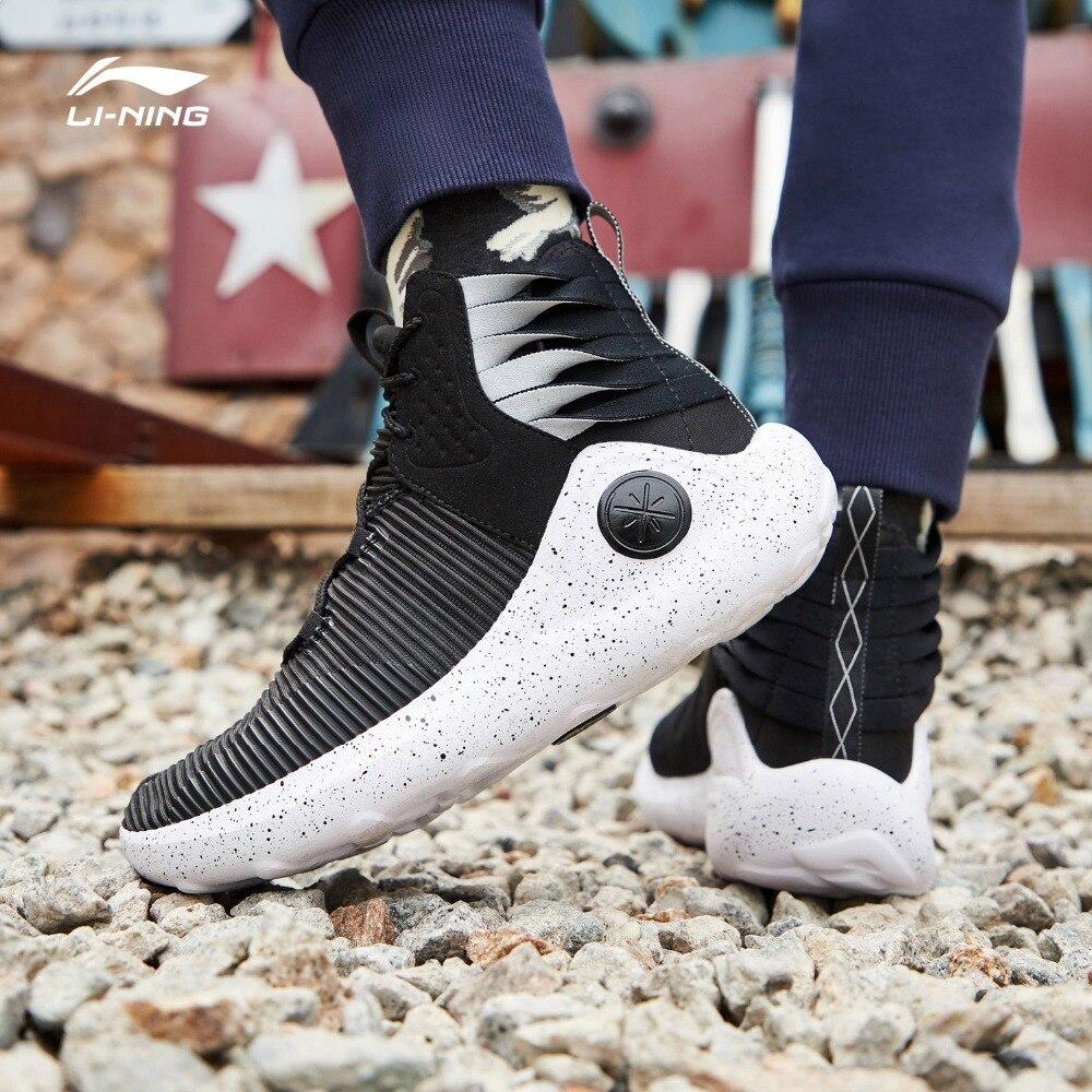 Li-ning hommes ESSENCE infini Wade Culture chaussures respirant confort doublure léger chaussures de Sport portable AGWP007 XYL237