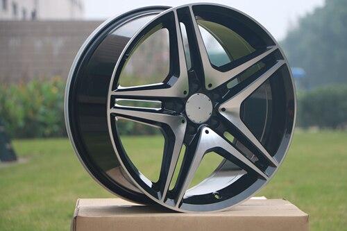 19 AMG Style Rims 19x8.5 ET 35 5x112 Fits Mercedes Benz E C S Class 320 350 550 W828