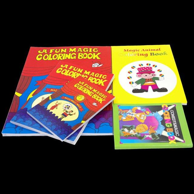 Online Shop A Fun Magic Coloring Book - Large size - Magic tricks ...