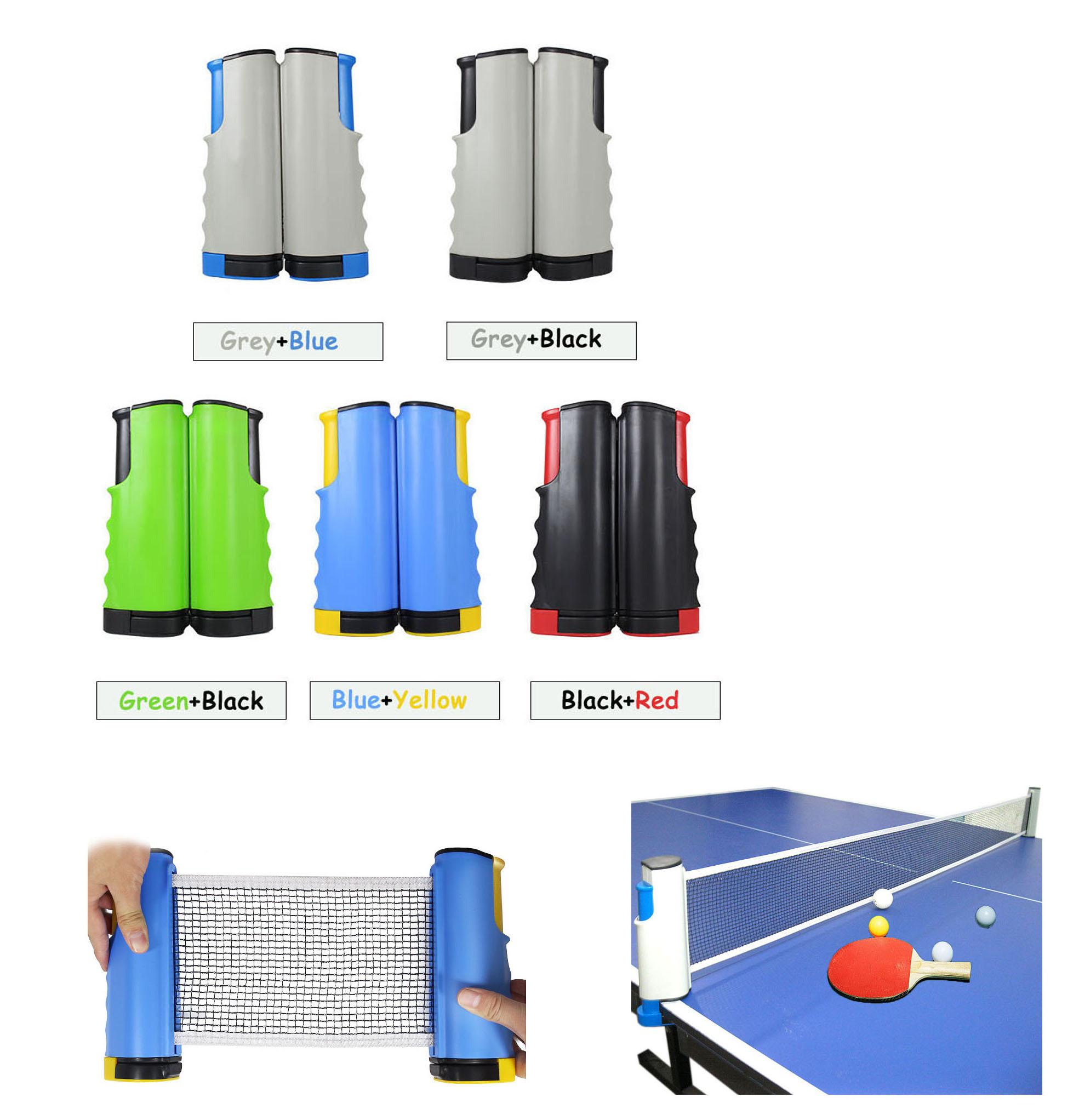 Schlägersportarten Verantwortlich Freies Verschiffen 190 Cm Max Länge Tragbare Einfache Clip-auf Versenkbaren Tisch Tennis Net Rack Kit Für Pingpong Spielen ZuverläSsige Leistung