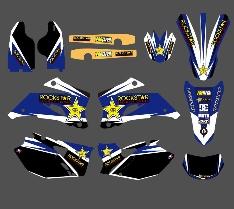 TEAM GRAPHICS & BACKGROUNDS DECALS STICKERS Kits Fits For Yamaha WR250F 2007-2013 WR450F 2007- 2011 WRF 250 450 WR 250F 450F мужские часы zeppelin zep 75463