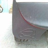 Car Mud Flaps Splash Guard Mudguard Fenders For Benz Smart Fortwo Forfour 2015 2016 2017