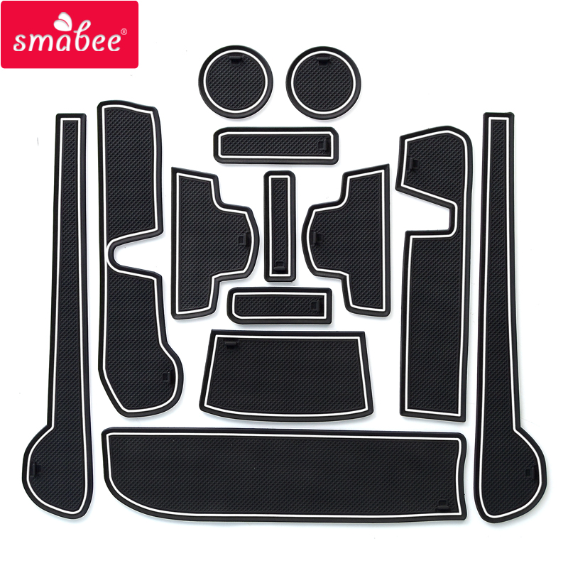 smabee Gate slot padFor HONDA N BOX SLASH JF1/JF2 Japan Interior Door Pad/Cup Non slip mats