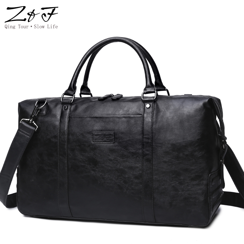ZEROFRONT New Mens Casual Travel bag Handbag Large Travel Duffle Bags Men Shoulder Bags15inch laptop bag