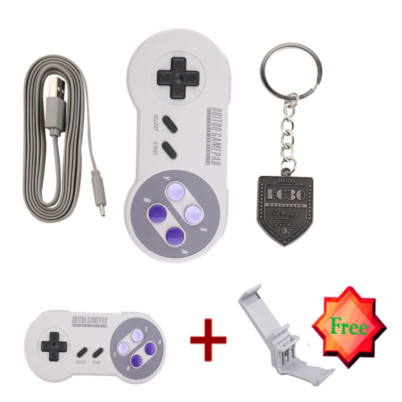 8Bitdo SNES30 Wireless Bluetooth Gamepad Game Controller For IOS Andro