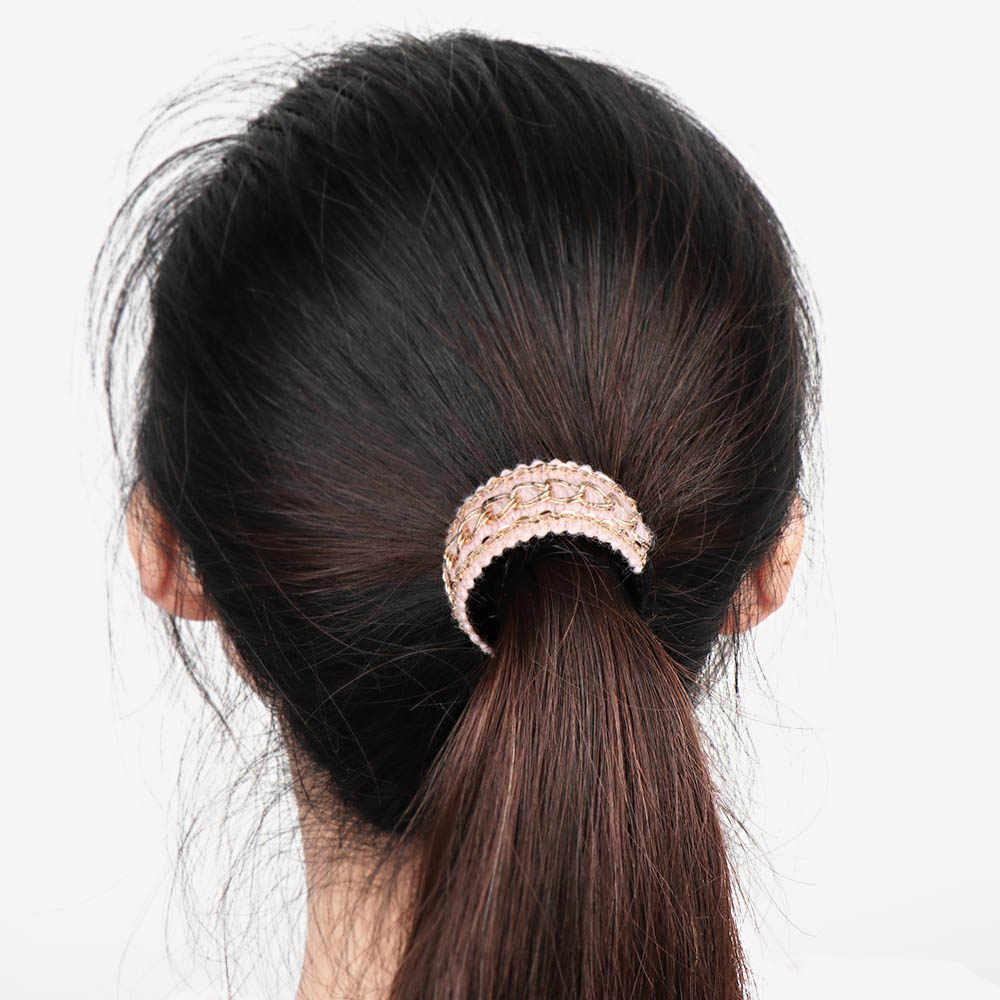 1 шт., конский хвост, удерживающие аксессуары-зажимы для волос, женские заколки для волос, большие шпильки, милые Галстуки, банановые крабы, когти, заколка для волос, головной убор