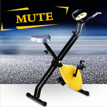 Indoor Cycling Bikes Foldable Multifunctional Uses Colorful Light Weight Strong Performance Easy To Storage