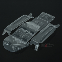 LC Racing high quality 1/14 accessories L6064 desert truck original transparent car shell cross country racing speed card