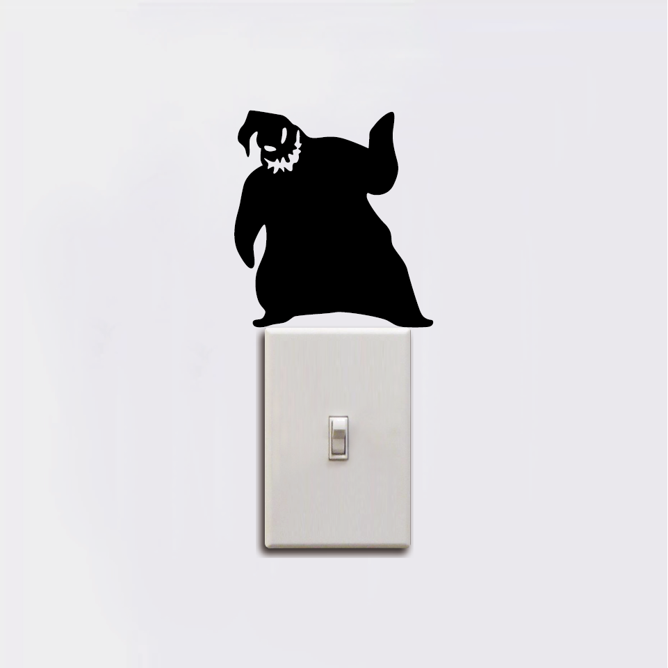 Oogie Boogie Switch Sticker Nightmare Before Christmas Wall Sticker ...