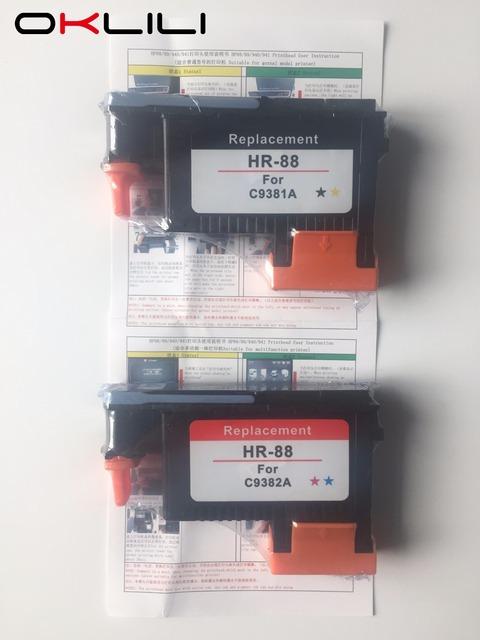 Para HP 88 C9381A C9382A cabeça de Impressão Da Cabeça De Impressão para HP K550 L7000 K5400 K8600 L7480 L7550 L7580 L7590 L7650 L7680 L7710 L7750 L7780